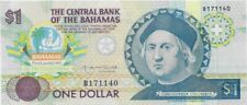 Bahamas Papermoney P-50 1992 1 Dollar, Commemorative Uncirculated Banknote