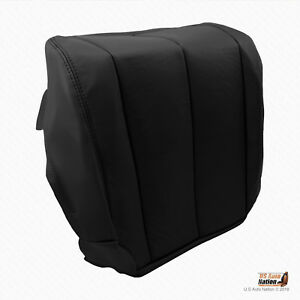 2006 2007 Driver Bottom Synthetic Leather Cover for Nissan Murano S SE SL BLACK