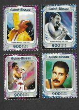 Freddie Mercury-Queen postage stamp set of 4 -Rock music