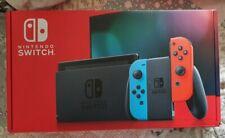 Nintendo Switch (blau/rot) Spielkonsole + 2 Controller und 3 Spielen