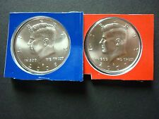 """2008-P+D  UNCIRCULATED """"SATIN FINISH"""" THE BEST KENNEDY HALF DOLLARS MINT SEALED"""