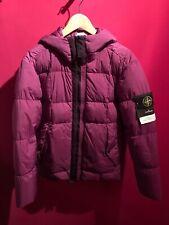 Stone Island Garment Dyed Crinkle Reps NY Down Size M NEU Purple Lila