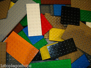 Lego x20 Base Plates Boards Strips Bricks Mixed Colours / Sizes Great for Sets!