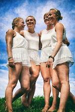 League of German Girls BDM Bund Deutscher Mädel Photo photograph 4x6 colored