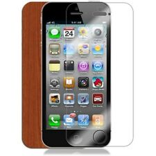 Skinomi Light Wood Full Body Skin+Screen Protector Cover for Apple iPhone 5