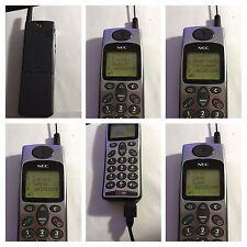 CELLULARE NEC DB2000 SILVER CLASSIC RETRO PHONE UNLOCKED SIM FREE DEBLOQUE
