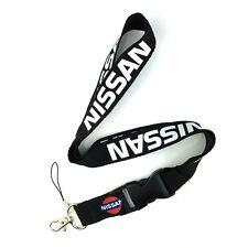 Fashion Car Logo Neck Strap Lanyard Keyring Key Chains Cellphone Cord for Nissan