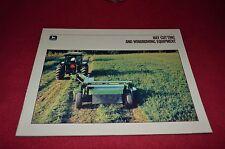 John Deere Hay Cutting & Windowing Equipment For 1988 Dealer's Brochure DCPA5