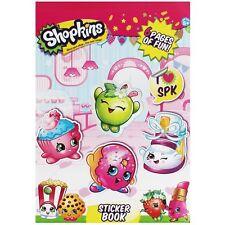 Shopkins Pegatinas Libro Aprox - 100 Pegatinas 6 páginas Craft Niños Diversión y actividades