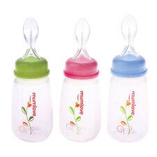 Biberon con alimentatore a cucchiaio e facile da afferrare per il bambino