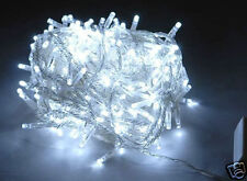 292 LED CHRISTMAS & WEDDING FAIRY LIGHTS WITH MEMORY WHITE (Clear Wire)
