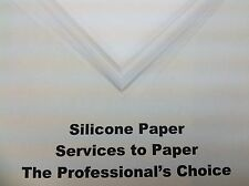Silicone Sheets / Parchment Paper for Opaque Heat Transfer Paper
