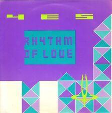 "YES - Rhythm Of Love (1987 VINYL SINGLE 7"" GERMAN PS)"