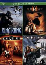 New ListingKing Kong / The Mummy [1999] / The Scorpion King / Van Helsing Four Feature Film