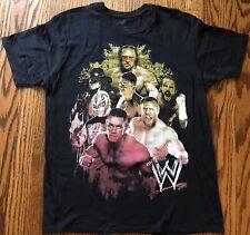 WWE 2013 John Cena Men's Black T Shirt Wrestling Size Large RN 71868