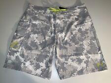 Under Armour Storm Reblek Board Shorts Size 40 Grey Camo 1271514 941
