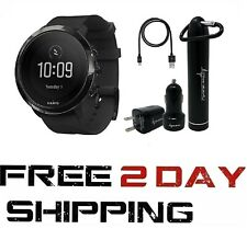 Suunto 3 Fitness Watch w/ Heart Rate Monitor Wearable4U Power Bundle SS050020000