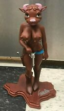 Cathy Cowgirl Brown Figure Rare SIGNED BY Ron English
