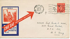 2404 1945 Propaganda-Cvr One Day Nearer VICTORY-POSTMARK-ERROR ROTHERHAM YORKS