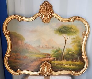 OIL PAINTING IN BEAUTIFUL FRAME - #M70