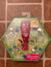 Barbie Girls Deco Pack Accessories Back Plate Clip On Charm & Earbud's NEW