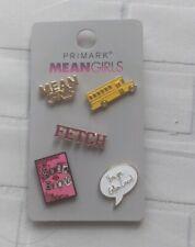 Mean Girls Gift Pin Badges Primark  BNWT
