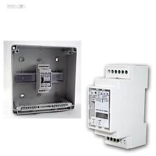 RGB LED Controller/Dimmer für Hutschiene, 12-24VDC 3x5A, Steuergerät, Steuerung