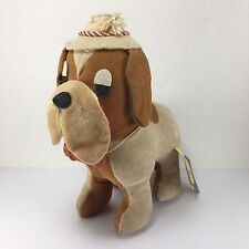 Dakin Dream Pets Bernard Rescue Dog w/ Hat & Red Barrel Japan Vintage