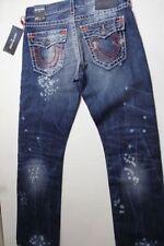 True Religion Brands Jeans Ricky Straight Denim Jeans 32 X 34 Super T $399 USA