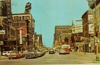 Vintage postcard Hennepin Avenue Minneapolis Minnesota vintage cars bus  a2-380