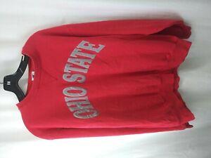 Vintage 1990's OHIO STATE Long Sleeve Champion Sweatshirt Size XL