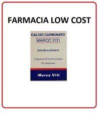CALCIO CARBONATO VITI MARCO 60 cpr NEW  Integratore alimentare di CALCIO