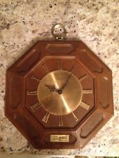 Vintage 1970s Oldsmobile Service Guild Clock By Elgin