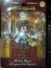 "Pirates of the Caribbean: 'Mickey Mouse as Jack Sparrow' 3"" Action Figure RARE!"
