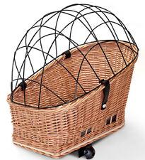 Fahrradkorb Weidenkorb Hundekorb XL Gepäckträger Hinten 56 x 36 cm (N-S o-K)