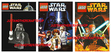 Lego Star Wars Posters Darth Vader Set of 3 large A3 size adverts signs