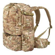 Highlander M50 Rucksack Army Backpack Hiking Rucksack Molle 50 LTR HMTC Camo