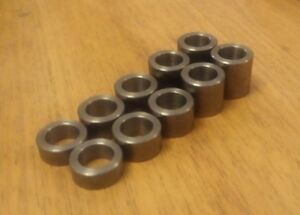M16 Clearance Mild Steel 20mm O/D washer / spacer / sleeve PICK LENGTH