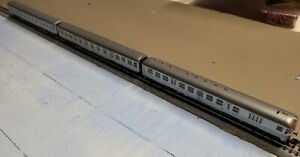 "Fleischmann 8120/8121 - 3 ""Silberling"" coaches, N Scale"