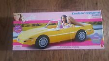 Barbie - Cruisin' Corvette Vehicle - Rare 2001 - Nib C4 Corvette