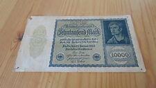 Alemania 1922 billete 10000 Mark Reichsbanknote