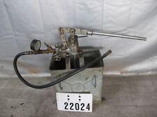 Prüfpumpe Druckprüfpumpe abdürückpumpe Pumpe #22024