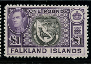 Falkland Is 1938 George VI set Sc# 84-96 mint