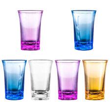 6Pcs 1.2-Ounce Shot Glass Heavy Base Shot Glass Set Party Bar Whiskey Shot Glass