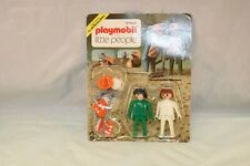 Playmobil system No. 014 Little People construction workers mint on card RARE