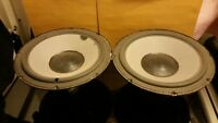 "Pair of Vintage 10"" Audioanalyst woofers from the 100A model. Tested good!"