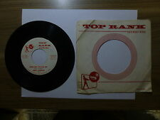 Old 45 RPM Record - Top Rank RA-2072 - Jerry Jackson - Everytime You Kiss Me / T