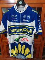 Men's Vacansoleil  DCM Cycling Jersey Top  New 44 Inch Xxxl.