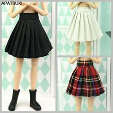 1/6 Dolls Accessories Base Doll Clothes For 11.5inch Doll Outfits Pleated Skirt