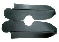 Door Panel Armrest Real Leather Cover for Honda CR-V 07-12 Black